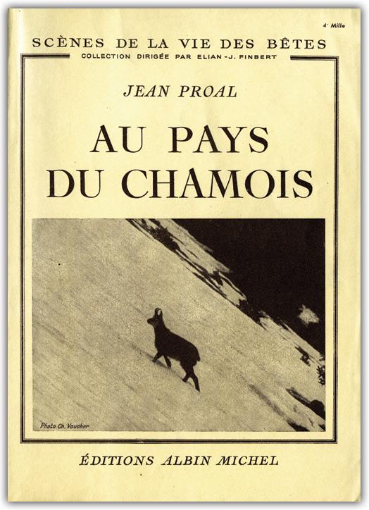 Au pays du chamois de Jean Proal