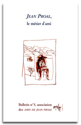 Bulletin Revue des Amis de Jean Proal