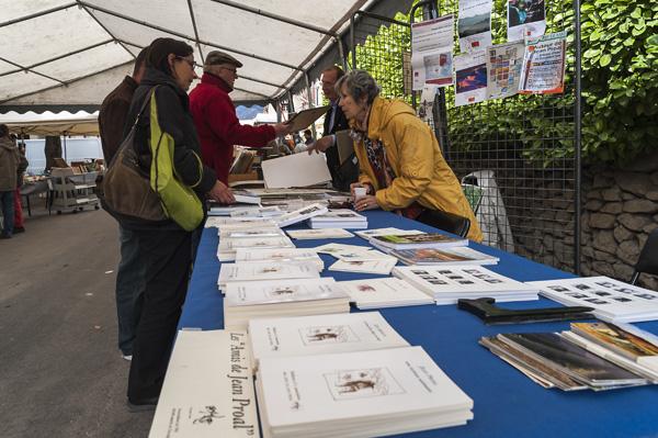 Stand AAJP au Salon du livre de Montbrun