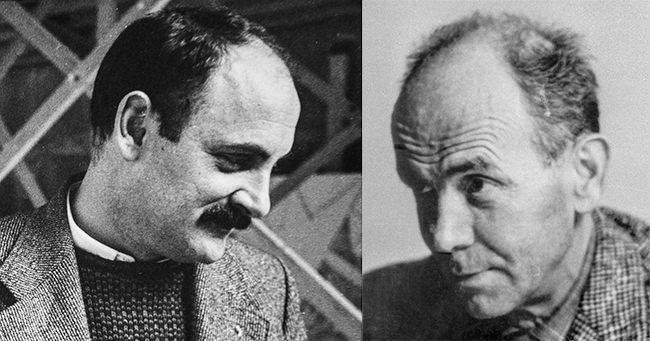 Jean Proal et Georges Item en quête de la Camargue et des Alpilles