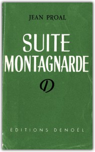 Suite montagnarde de Jean Proal