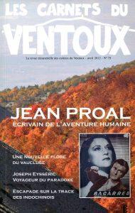 carnets du ventoux - Jean Proal